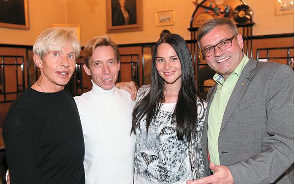 Promi – Besuch im Konzertcafe Bellaria