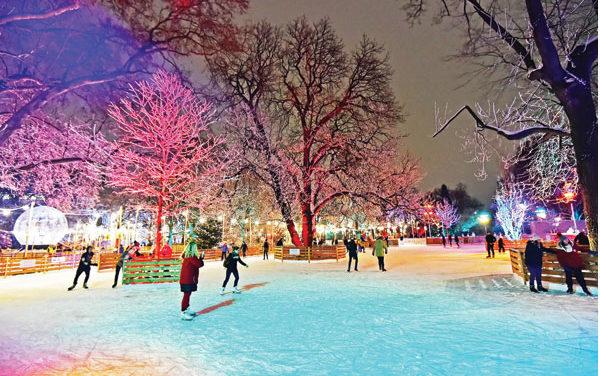 Vom Weihnachstraum zum Wiener Eistraum