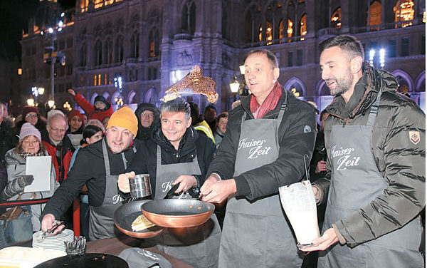 Wiener Eistraum mit Eispalatschinken von Andi & Andi