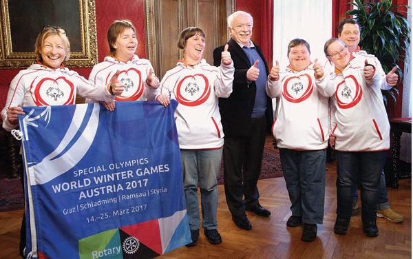Special Olympics 2017: Wien ist Host – Town