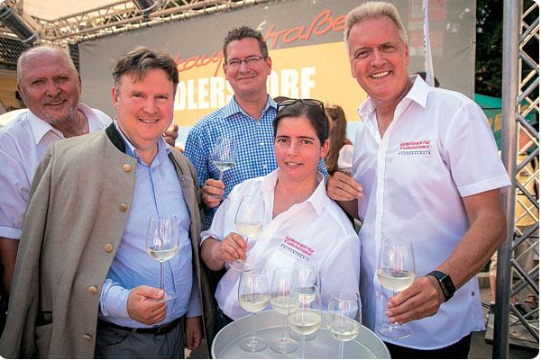 Stammersdorf Weintage Schwungvoll eröffneten