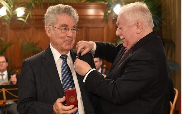 Dr. Heinz Fischer wurde Ehrenbürger der Stadt Wien