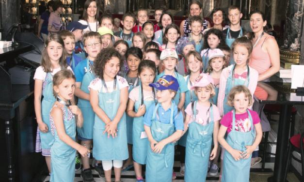 Kinder, Kunst und kochen im Kunsthistorischen Museum