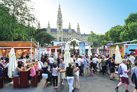 Das Wiener Film Festival am Rathausplatz startet am 30.Juni
