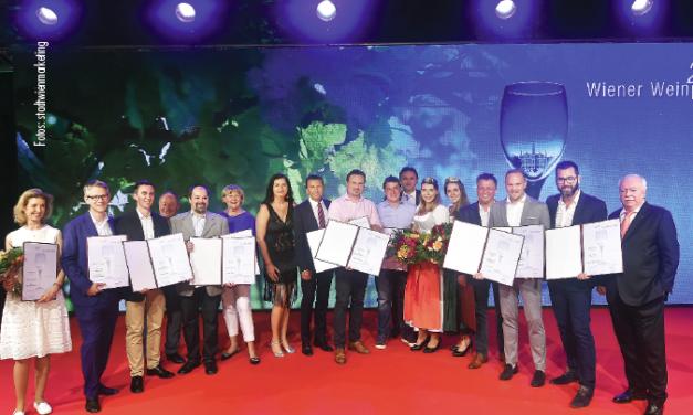 Die besten Wiener Weine 2017 wurden feierlich gekürt